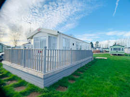 BEAUITFUL HOLIDAY HOME FOR SALE WITH DECKING