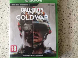 X Box one - Call of Duty Cold War