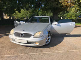 Mercedes Slk, 2003 (03) Silver Convertible, Automatic Petrol, 104000 miles