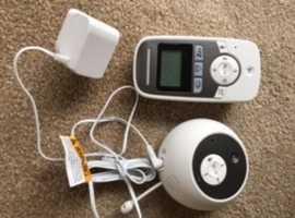 Motarola Baby Monitor mbp161 timer and audio