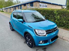Suzuki Ignis, 2018 (67) Blue Hatchback, Automatic Petrol, 25,000 miles