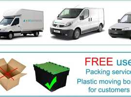 London Removals | Man Van, Office and House Removals London