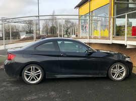 BMW 2 SERIES, 2014 (14) Black Coupe, Manual Diesel, 51,000 miles