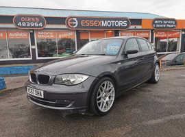 BMW 1 series, 2007 (57) Grey Hatchback, Manual Diesel, 98,000 miles