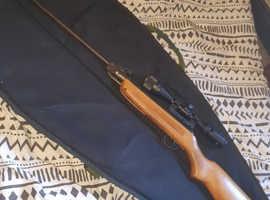 .22 air rifle 3-9×40 scope