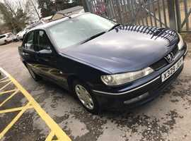 Peugeot 406, 2001 (X) Blue Saloon, Manual Diesel, 160,000 miles