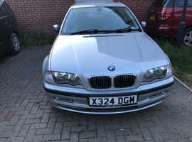 BMW 3 Series, 2000 (X) Silver Saloon, Automatic Petrol, 72,059 miles