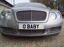 *O BABY* NUMBER PLATE FOR SALE. ON RETENTION.
