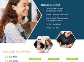 Exam focused tuition for GCSE Maths & English