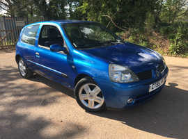 Renault Clio, 2006 (55) Blue Hatchback, Manual Petrol, 79,844 miles
