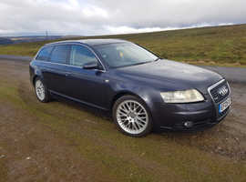Audi A6, 2005 (05) Grey Estate, Automatic Petrol, 127,000 miles