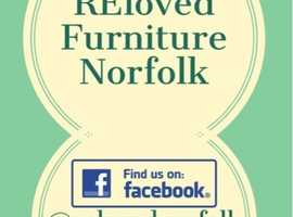 Beautiful hand painted and renovated furniture