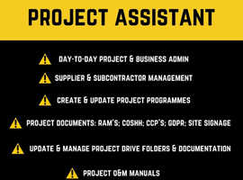 Construction Project Assistant (Remote)