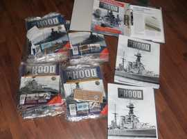 For Sale, Modal of the HMS Hood 52 inch's in length
