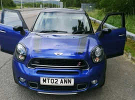 Mini MINI COUNTRYMAN, 2014 (64) Blue Hatchback, Manual Diesel, 36,000 miles