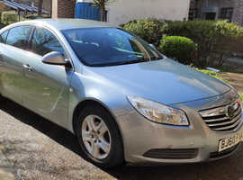 Vauxhall Insignia, 2010 (60) Silver Hatchback, Manual Diesel, 75,406 miles
