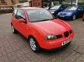 Seat Arosa, 2002 (02) Red Hatchback, Manual Petrol, 90,897 miles