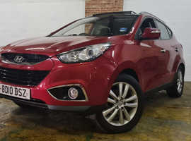Hyundai Ix35, 2010 (10) Red Estate, Manual Diesel, 95,681 miles