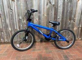 Apollo Chaos BMX child's bike - Blue