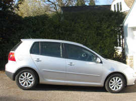 Volkswagen Golf, 2008 (57) Silver Hatchback, Manual Diesel, 70,244 miles