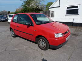 Seat Arosa, 1997 (R) Red Hatchback, Automatic Petrol, 89,000 miles