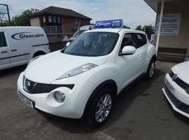 Nissan Juke, 2013 (13) 1.6 Acenta SUV Low Mileage
