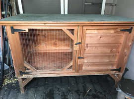 Rabbit Hutch Large and Strong