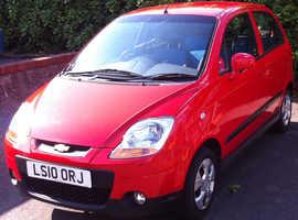 Chevrolet Matiz, 2010 (10) Red Hatchback, Manual Petrol, 11,058 miles