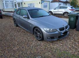 BMW 3 Series, 2011 (11) Grey Coupe, Manual Diesel, 127,000 miles