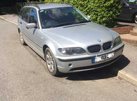 BMW 3 Series, 2003 (03) Silver Estate,6 speed gearbox  Manual Diesel, Spares or Repair