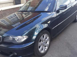 BMW 3 Series, 2004 (54) Green Coupe, Manual Diesel, 183,000 miles