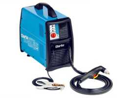 Plasma cutter with built in compressor