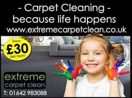 Professional Carpet Cleaning in the TS and DL postcode area