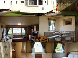 8 berth 3 bedroom pet friendly caravan for hire on the Lake District coast.