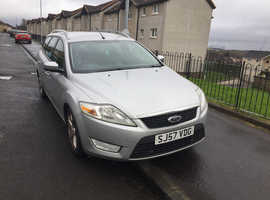 Ford Mondeo, 2007 (57) Silver Estate, Manual Petrol, 113,000 miles