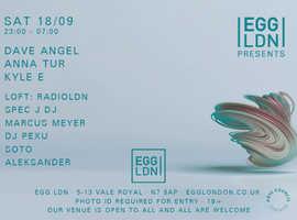 RadioLDN at EGG London