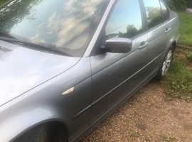 BMW 3 Series, 2004 (04) Grey Saloon, Manual Petrol, 96,000 miles