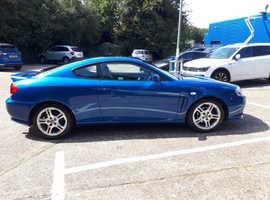 Hyundai Coupe, 2006 (06) Blue Coupe, Manual Petrol, 82,000 miles