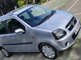 Vauxhall Agila, 2005 (55) Silver MPV, Manual Petrol, 65,000 miles