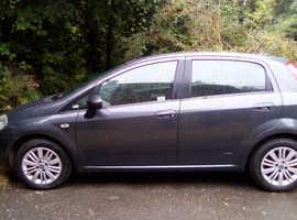 Fiat Grande Punto, 2007 (07) Grey Hatchback, Manual Petrol, 1,000,000 miles