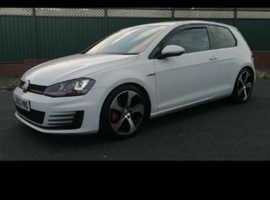 Volkswagen GOLF GTI TURBO, 2014 (63) White Hatchback, Manual Petrol, 34,000 miles