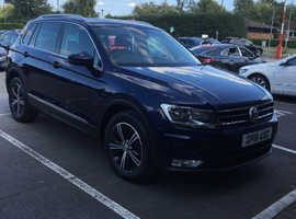 Volkswagen Tiguan, 2016 (16) Blue Estate, Manual Diesel, 37,500 miles