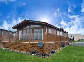 40x20 luxury lodge, East Yorkshire coast, 5* holiday park
