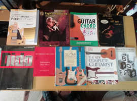 Collection of various Guitar Tutorial books