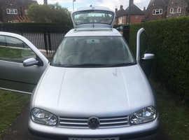 Volkswagen Golf, 2001 (Y) Silver Hatchback, Manual Petrol, 101,000 miles