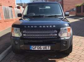 Land Rover Discovery, 2006 (06) Black Estate, Manual Diesel, 164,000 miles