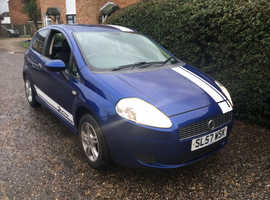 Fiat Grande Punto 1.2 Blue Hatchback, Manual Petrol,