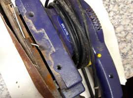 Job lot of power tools Sander hot air gun and jigsaw