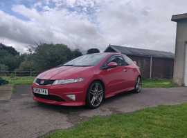 Honda Civic, 2008 (08) Red Hatchback, Manual Petrol, 90,922 miles
