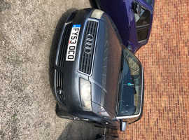 Audi A4, 2003 (53) Grey Convertible, Manual Petrol, 78,000 miles